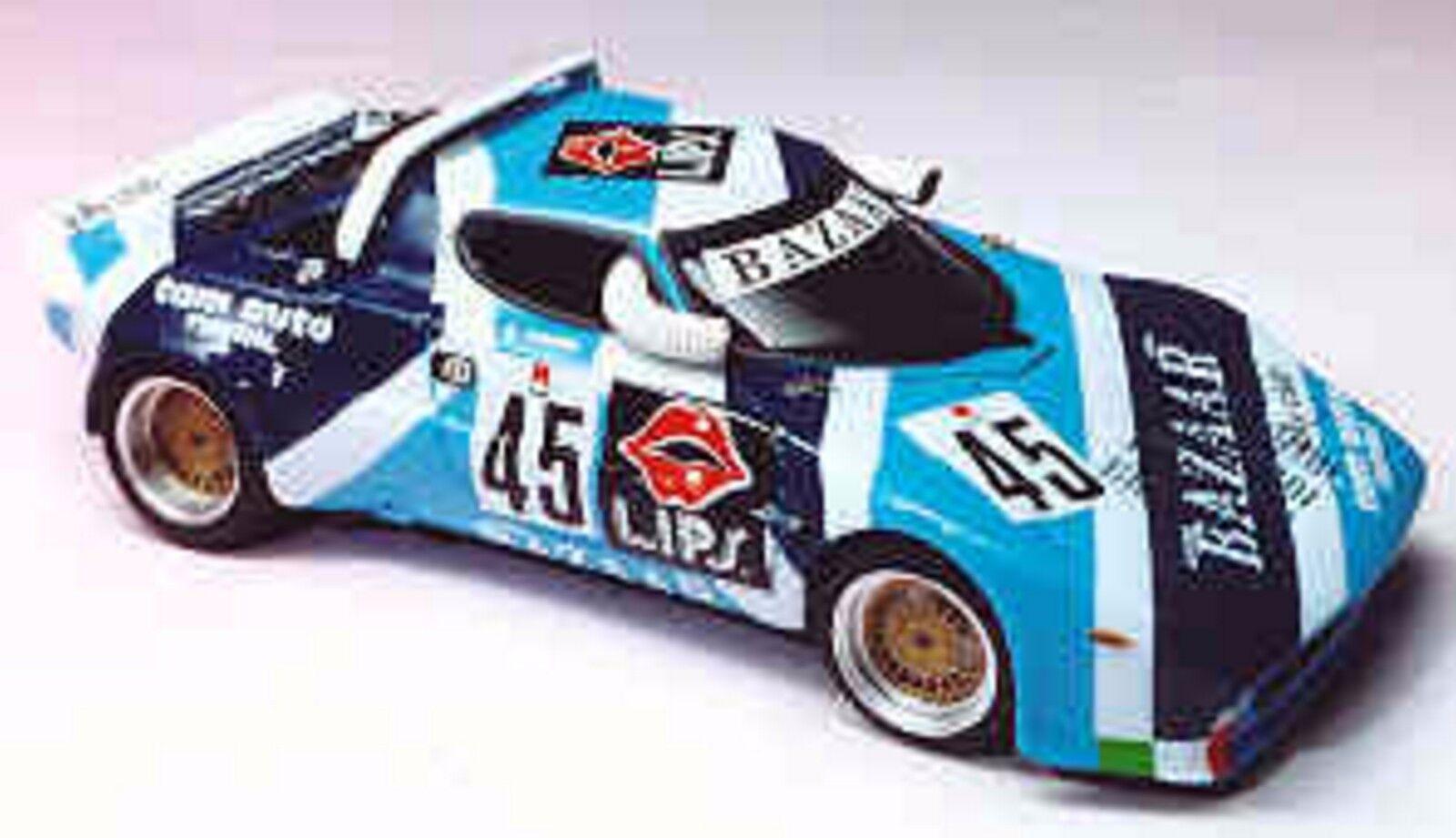 Kit Lancia Stratos Bazar  45 Targa Florio 1975 - Arena Models kit 1 43