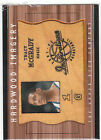 2001/2 UD Inspirations Hardwood Imagery Tracy McGrady game used floor card