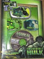 Marvel Incredible Hulk Digital Camera W3 Face Plates Image Lab Photo Editing