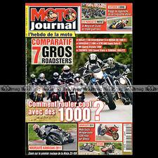 MOTO JOURNAL N°1914 TRIUMPH 1050 SPEED TRIPLE JFR ROADSON 550 SUPERLEGGERA 2010