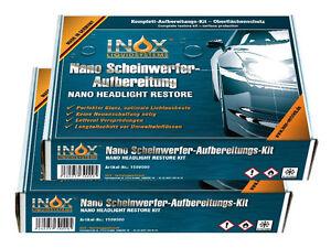 2x-INOX-Nano-Versieglung-fuer-Scheinwerfer-6-teiliges-Aufbereitungsset