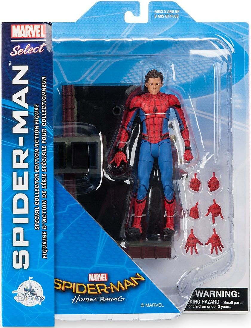 Spider-Man   Spider-Man Homecoming Marvel Select Spider-Man Action Figure b33468