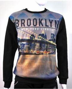 Fashionista-Men-Fashionable-Sweater-Sweatshirt-Brooklyn-Design-Black