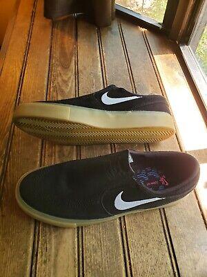 Nike SB Zoom Stefan Janoski Slip RM Black Gum Skate Shoe Men's US 7 Very Nice   eBay