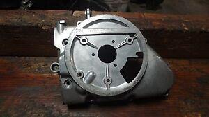 1977 KAWASAKI KZ200 KZ 200 KM341 ENGINE CRANKCASE SIDE ...