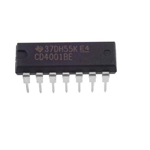 10Pcs CD4001 CD4001BM SOP-14  TI CMOS QUAD BISPTERAL SWITCH IC SP