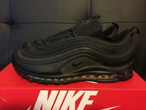 Details About Nike Air Max 97 Prm Se Premium Black Metallic Gold Reflective Aa3985 001 Sz 11