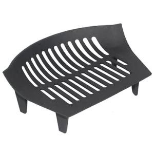 38 x 27 x 12 cm Black JVL Chiltern Cast Iron Fireside Log Coal Fire Grate