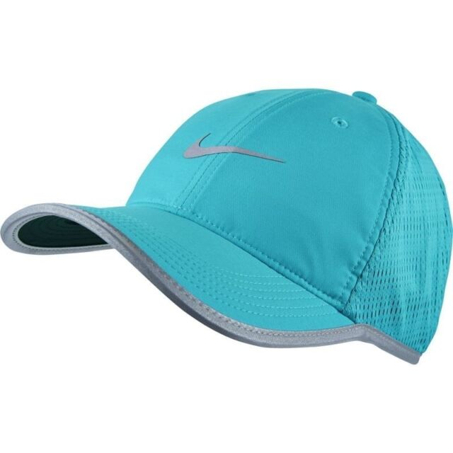 d6dce992d1f UNISEX NIKE DRI-FIT PALE BLUE RUNNING GOLF SPORTS CAP HAT BNWT LIGHTWEIGHT
