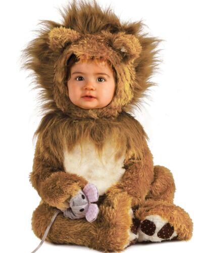 0-6M 12-18M 6-12M Little Lil Lion Cub Costume Baby Infant Toddler Plush