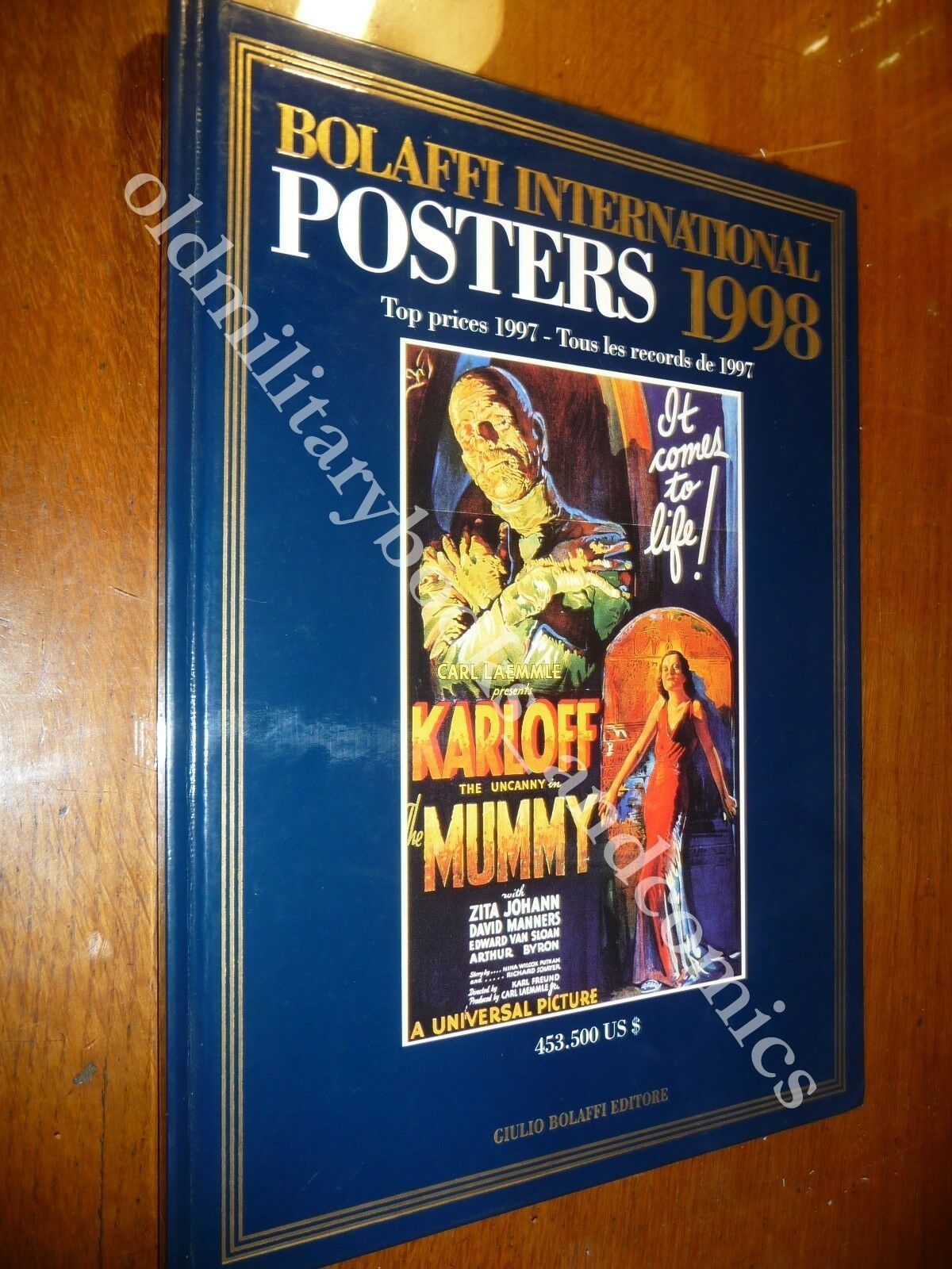 BOLAFFI INTERNATIONAL POSTERS 1998 CATALOGO CON IMPORTANTI VALUTAZIONI D'ASTA