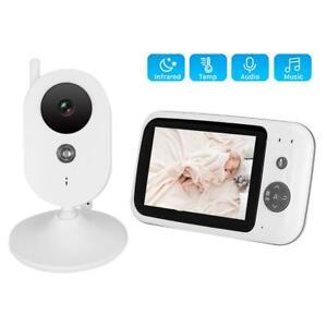 3-2-034-LCD-Wireless-2-4GHZ-2-Way-Audio-Intercom-Baby-Monitor-IR-Night-View-100-240V
