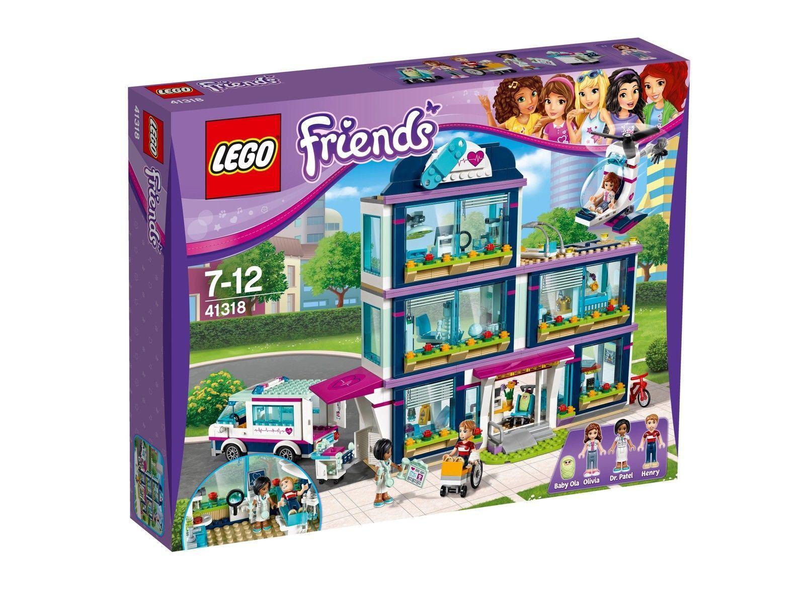 LEGO Friends Heartlake Krankenhaus 41318 NEU OVP
