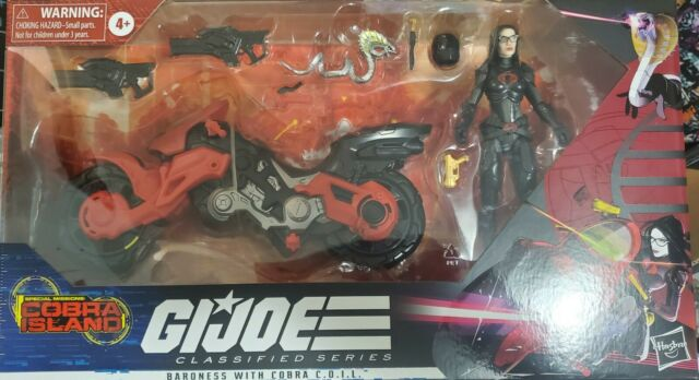 G.I. Joe Special Missions: Classified Series Baroness with Cobra C.O.I.L. | NEW