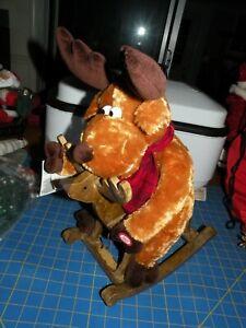 Dan Dee Christmas Grandma Got Run Over by a Reindeer on ROCKING HORSE W/TAGS