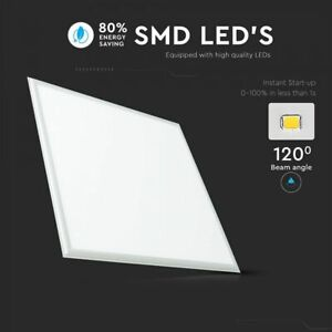 LED-Panel-Recessed-Ceiling-Light-Square-60x60cm-36W-6400K-with-Driver-by-V-TAC
