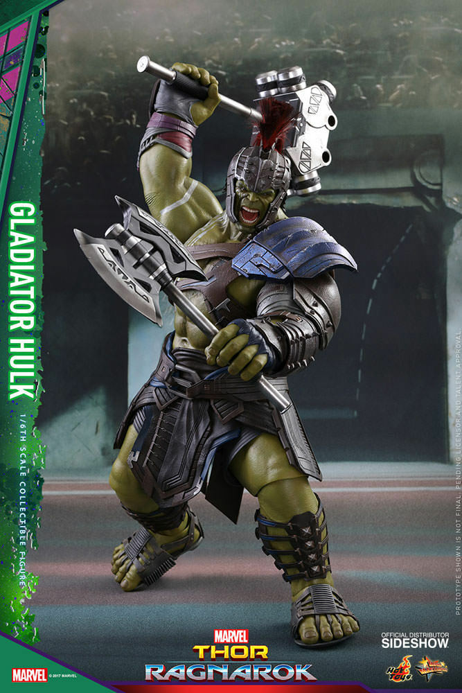 Marvel Gladiator Hulk 1/6 Action Figure Hot Toys Sideshow Thor Ragnarok MMS 430