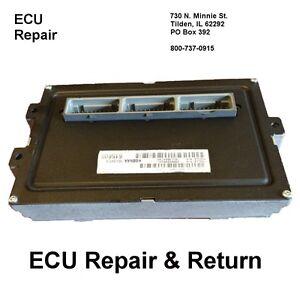 Jeep Grand Cherokee ECM ECU Engine Computer Repair & Return Jeep ECM
