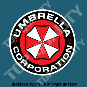UMBRELLA-CORP-DECAL-STICKER-FUNNY-WARNING-STICKER-REANIMATED-LIVING-DEAD-DECALS