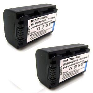 HDR-PJ210 HDR-PJ220 HDR-PJ260V Handycam Camcorder Rechargeable Li-ion Batteries for Sony HDR-PJ200 HDR-PJ230