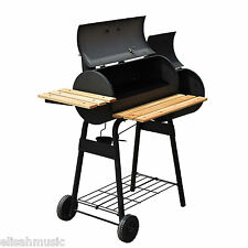 New Barbecue Charcoal Grill 48'' Home Patio BBQ Party Leisure Meat Cooker Smoker