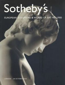 Sotheby-039-s-Catalogue-European-Sculpture-amp-WOA-900-1900-2003-HB