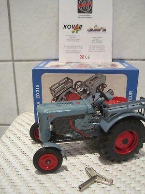 Funktion üBerlegene Leistung Blechspielzeug Traktor Trecker Schlepper Eicher Ed 215 *neu* M Spielzeug Blechspielzeug