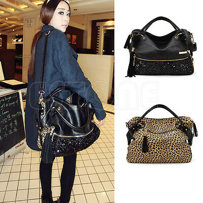 Fashion Women Handbag Tote Purse PU Leather Women Messenger Hobo Shoulder Bags