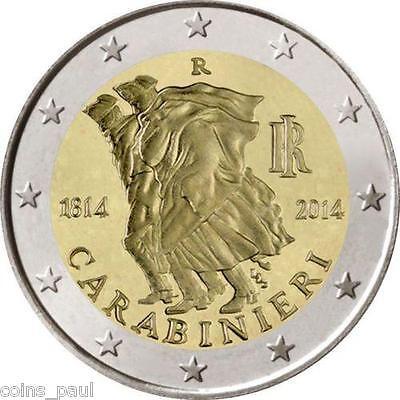 "Italy 2 euro 2014 /""Galileo Galilei/"" BiMetallic UNC"