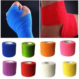 Self-sticking-Sports-Basketball-Unisex-Sweat-Band-Sweatband-Wristband-Wrist-Band