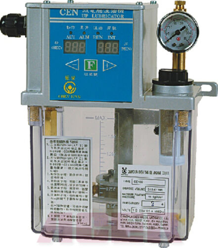 CEN04 Type Pressure-Relief Electric Auto Lubricator 3L 220V Bijur