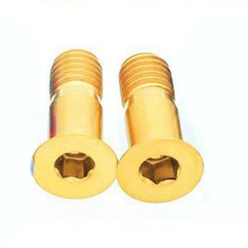 Pulley Bolts Bolts Rear Derailleur Titanium 2pcs 4-5N.M Bolt High Quality
