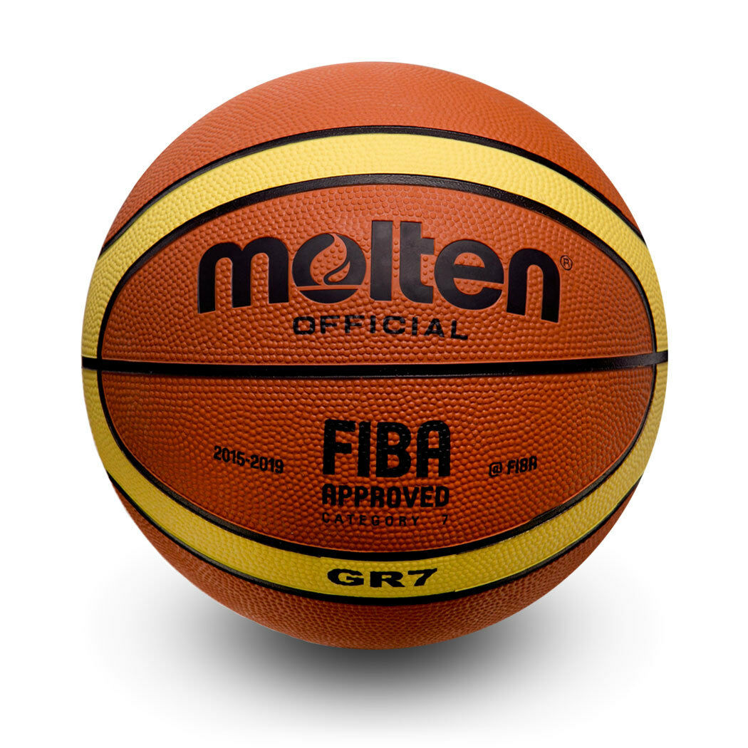 36 Molten Basketball  BGR7 Official Size 7  FIBA Approved 2015-2019, Approved.