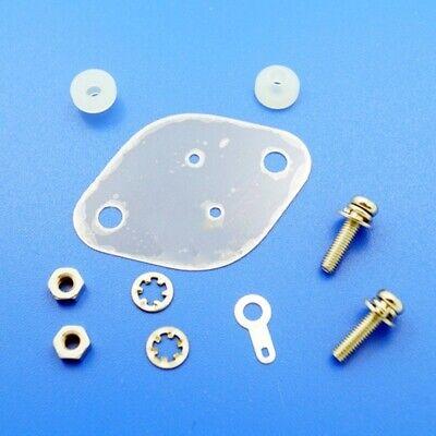 4 X Mica Heat Sink Insulator to-3 42x29x0.15 mm.