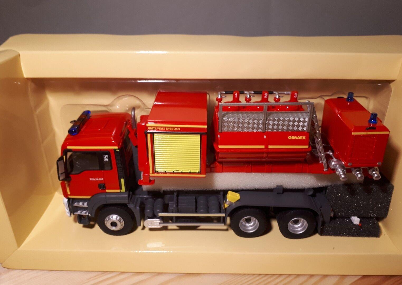 Posteriormente agotado Eligor 114452 Man tgs26.320 Pompiers porte porte porte Berce Cellule Mouss 429847