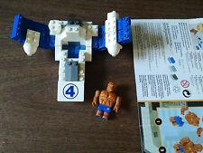 2004 Marvel Mega Bloks The Thing Super Hero Building Block Toy Fantastic 4