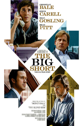 The Big Short Movie Poster Glossy Finish Posters USA MOV607