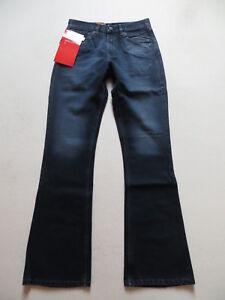 Levi-039-s-525-Bootcut-Jeans-Hos-W-31-L-34-schwarz-NEU-Coated-Vintage-Denim