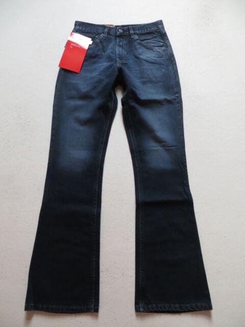 Levi's 525 Bootcut Jeans Hos W 31 /L 34, schwarz, NEU ! Coated Vintage Denim !
