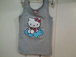 Hello-kitty-T-short-size-S-girl-039-s-8-12