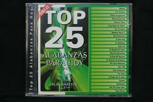 Top-25-Alabanzas-Para-Hoy-Maranatha-Latina-New-Sealed-CD-C1171