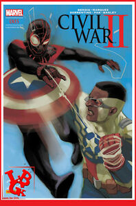 CIVIL-WAR-II-2-5-05-Mai-2017-Cover-2-2-Marvel-Panini-Coipel-Bendis-NEUF
