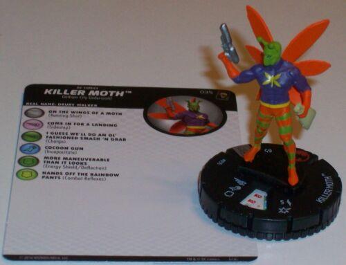 KILLER MOTH #035 The Joker/'s Wild DC HeroClix Rare