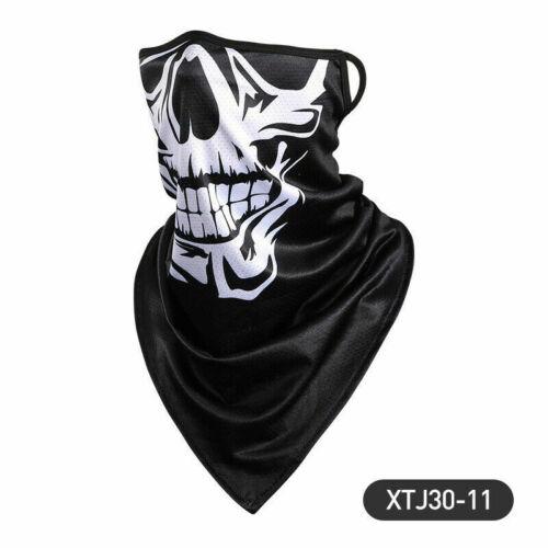 Motorcycle Face Covers Neck Warmer Tube Scarf Biker Ski Snood Balaclava Bandana✔