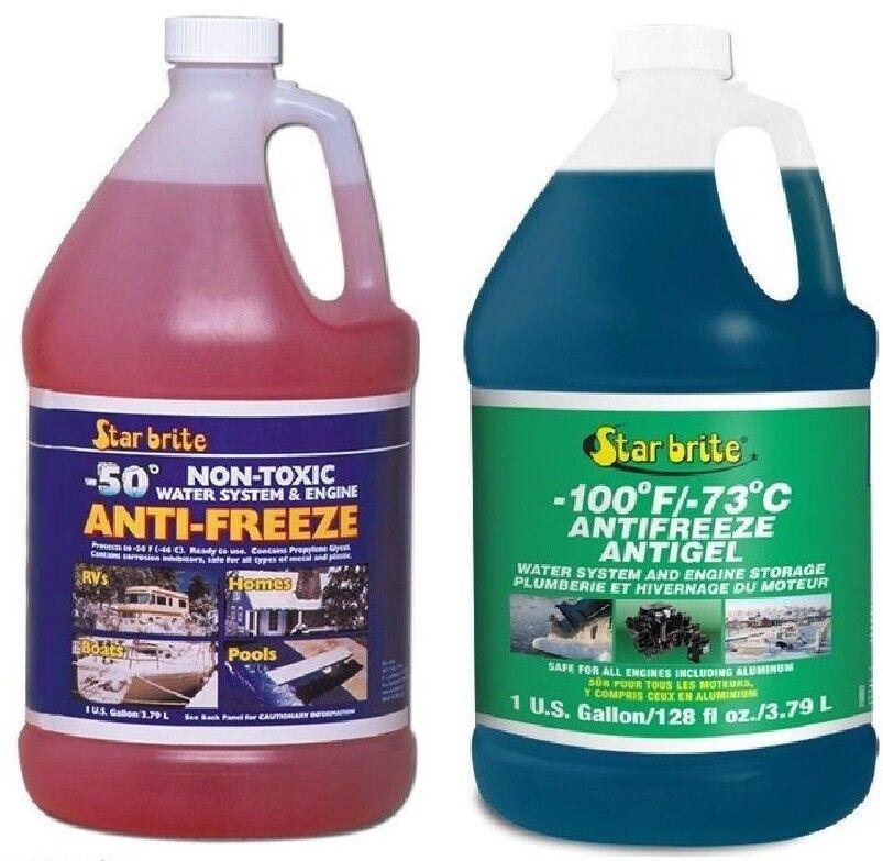 Star Brite Non-Toxic Anti-freeze -46°C & -73°C Options