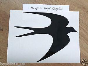 1-x-Swift-Bird-Vinyl-Decal-Sticker-for-Awning-Motorhome-Caravan-25-Colours