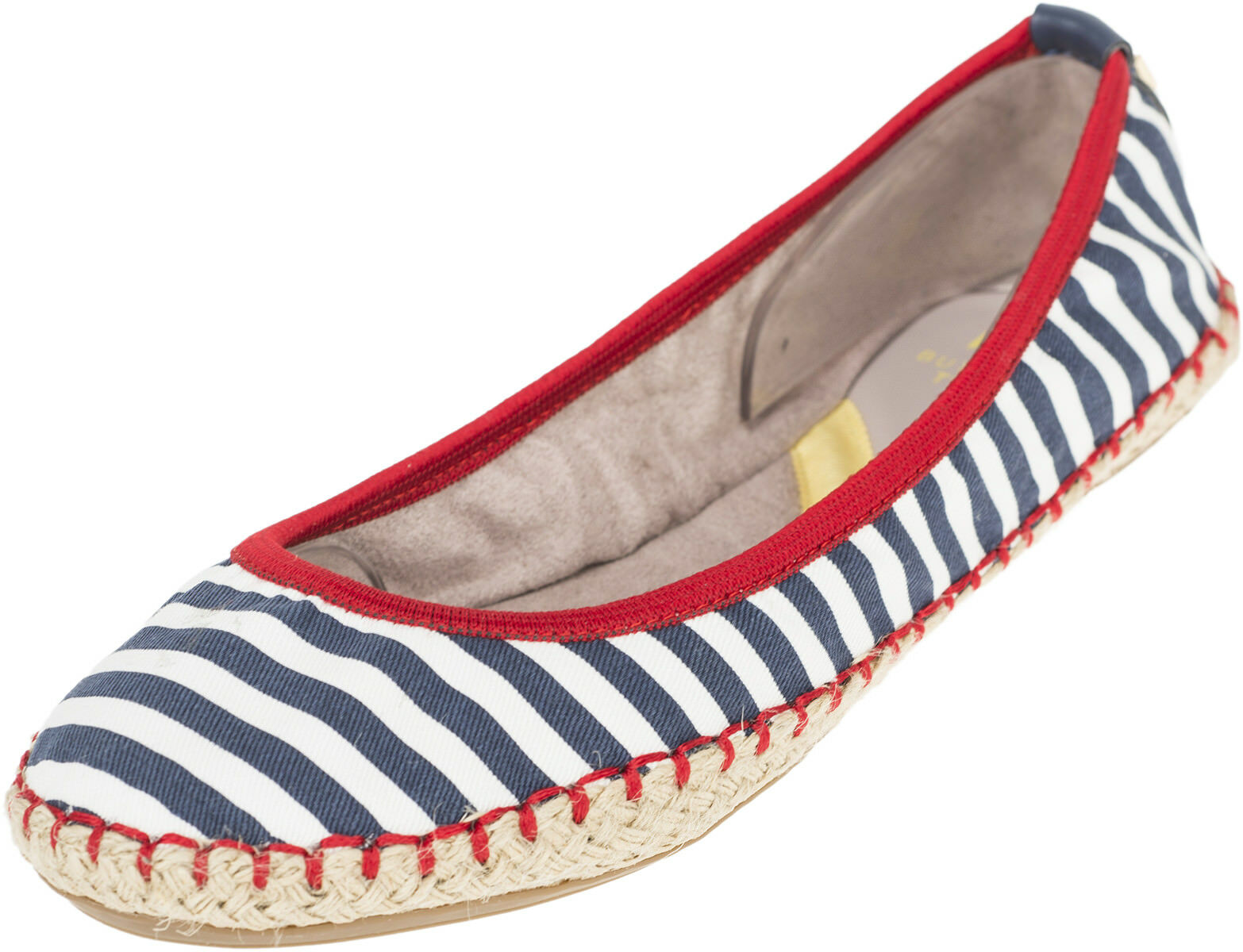 Butterfly Twists GIGI Sailor STRIPES Streifen Jute Flats BALLERINAS Rockabilly