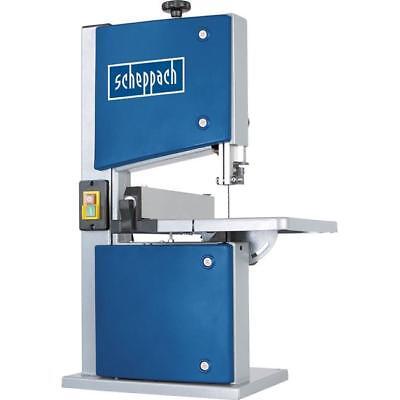 Scheppach 350 W Bandsäge HBS20 bis 200 mm Breite und 80 mm Höhe, 300x300mm Tisch