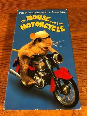 The Mouse And The Motorcycle VHS VCR Video Tape Movie Ray ...