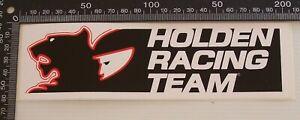GENUINE-VINTAGE-HOLDEN-RACING-TEAM-SOUVENIR-BUMPER-STICKER-HRT-MERCHANDISE